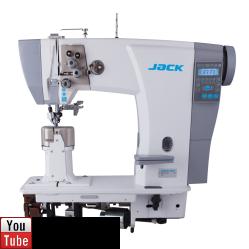 Jack JK-6692 двухигольная колонковая машина для тяжелых материалов width=