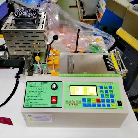 Машина для горячей резки лейбы  под углом CH-120