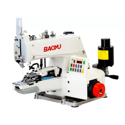 Baoyu BML-373D электромеханическая пуговичная машина цепного стежка