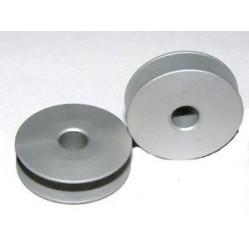 Шпулька 502526 алюминиевая на зиг-заг width=
