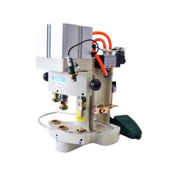 Juck JK-03-100(Dison DS-03-100) Пневматический пресс для установки металлофурнитуры width=