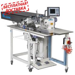 """Jack JK-T5878-58 автоматизированная швейная машина для заготовки планки """"поло"""""""
