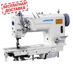 Jack JK-58720B двухигольная промышленная швейная машина с увеличенными челноками