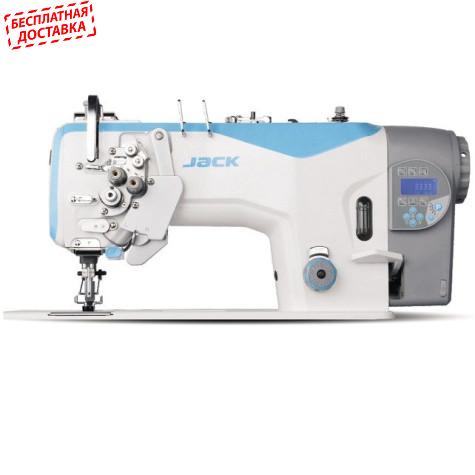 Jack JK-58420D4/J-403 Двухигольная промышленная швейная машина без отключения игл с автоматикой
