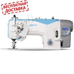 Jack JK-58420J Двухигольная промышленная швейная машина с автоматикой и без отключения игл