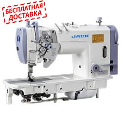Jack JK-58750B-005  Двухигольная промышленная швейная машина с отключением игл и увеличенными челноками