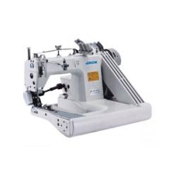 Jack JK-T9280D-73-2PL трехигольная швейная машина цепного стежка с П-образной платформой и сервоприводом width=