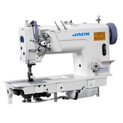 Jack JK-58720-003 двухигольная промышленная швейная машина с увеличенными челноками