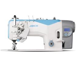 Jack JK-58750J двухигольная швейная машина с автоматикой, увеличенными челноками, с отключением игл width=