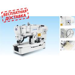 Jack JK-T783D промышленный петельный полуавтомат (прямая петля) со встроенным сервоприводом