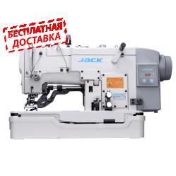 Jack JK-T783E петельный полуавтомат (прямая петля) с автоподъемом лапки и прямым приводом