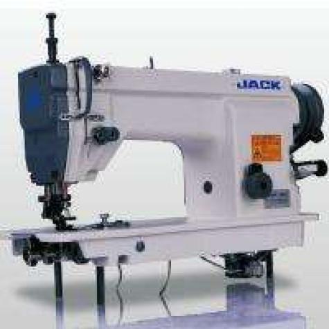 Jack JK-60981 Прямострочная одноигольная швейная машина с нижним и дифференциальным верхним транспортером