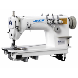 Jack JK-8558W-3 двухигольная швейная машина цепного стежка (последовательная игла)