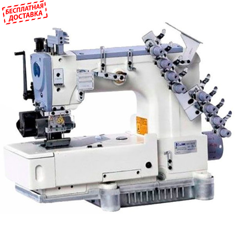 Jack JK-8009VC-08064P восьмиигольная швейная машина цепного стежка