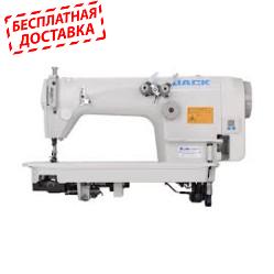 Jack JK-8558WD-3 двухигольная швейная машина цепного стежка (последовательная игла) со встроенным сервоприводом