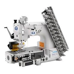 Jack JK-8009VC-17032P 17-игольная швейная машина цепного двухниточного стежка width=