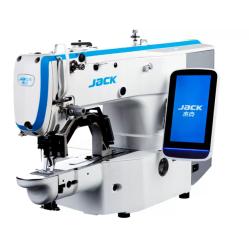 Jack JK-T1900GH-D Высокоскоростная электронная закрепочная машина с площадью шитья 30×40мм для тяжёлых тканей width=