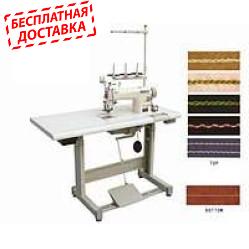 """Japsew J-222 промышленная швейная машина для декоративной строчки """"косичка"""""""
