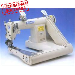 K-Chance MS-2190-SP двухигольная машина цепного стежка с П-образной платформой и пуллером