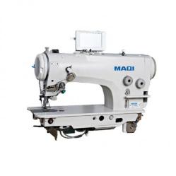 MAQI 2290SR Промышленная швейная зиг-заг машина с полной автоматикой и управлением шаговым двигателем для зубчатой рейки width=