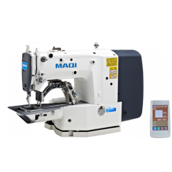 MAQI 436GE Электронная закрепочная машина с увеличенный рабочим полем 60х90 мм width=
