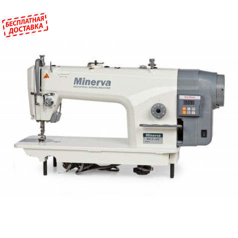 Прямострочная швейная машина с увеличенным челноком Minerva M8180B-JDE