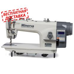 Minerva 9800JE4-H одноигольная прямострочная машина с автоматикой