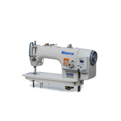 Minerva M9800DD-1 универсальная прямострочная швейная машина со встроенным сервомотором width=