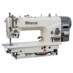 Minerva M6160JE4 прямострочная машина с игольным транспортом и прямым приводом