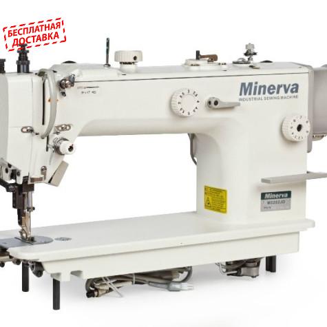 Minerva M0202JD прямострочная машина с тройным транспортом и прямым приводом