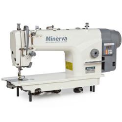 Minerva M818-1JDE Одноигольная швейная машина челночного стежка с функцией обрезки нити width=