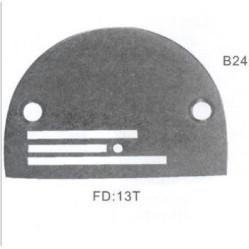 Игольная пластина B24 Ø2,4 мм Универсальная