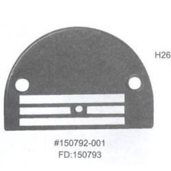 Игольная пластина H26 Ø 2,6 мм (150792-0-01) Универсальная width=