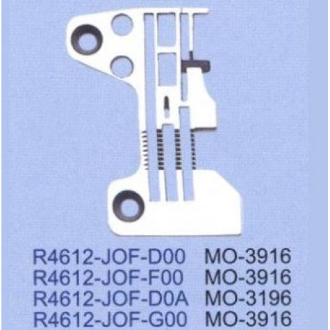 Игольная пластина R4612-J0F-F00 Juki