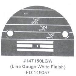 Игольная пластина 147150LGW Универсальная легкая