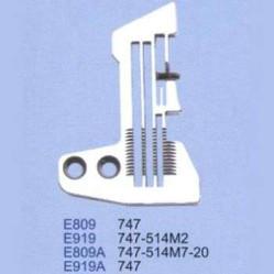 Игольная пластина E809 Siruba width=