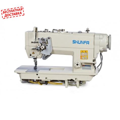 Промышленная двухигольная машина с автоматикой Shunfa SF8452