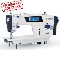 Shunfa S8-D5 прямострочная швейная машина с автоматикой и сенсорным дисплеем