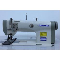 Taking ТК-551 Одноигольная машина с унисонным продвижением материала (ролик-ролик) для тяжелых материалов width=