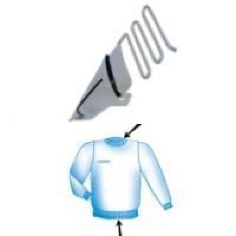 Приспособление для окантовки трикотажной резинкой в два сложения UMA-22 (27~40)