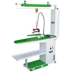 Wermac C203 консольный гладильный стол с поддувом, рукавом и подвесом для утюга width=