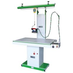 Wermac C303 прямоугольный гладильный стол с рукавом и подвесом для утюга
