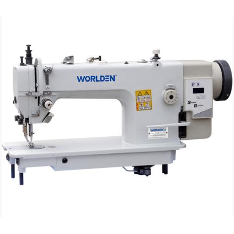 Прямострочная одноигольная машина челночного стежка Worlden WD-0303D