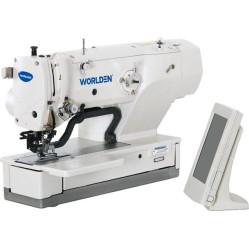 Worlden WD-1790S Высокоскоростная петельная машина с электронным управлением для изготовления прямой петли width=