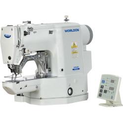 Worlden WD-430D-01 Электронная закрепочная швейная машина челночного стежка с прямым сервомотором