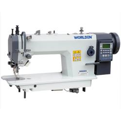 Worlden WD-0388 D4 Автоматизированная прямострочная одноигольная машина челночного стежка width=