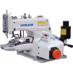 Worlden WD-1377D Пуговичный полуавтомат однониточного цепного стежка