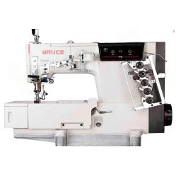 Bruce P5-UT-02BBx356(364) Плоскошовная машина с плоской платформой и автоматическими функциями width=