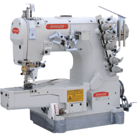 Распошивальная машина с цилиндрической платформой и автоматикой Bruce BRC-W664-01GBx356(364)/UT/PL