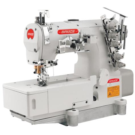 Распошивальная швейная машина с плоской платформой Bruce BRC-562-01GB/UT